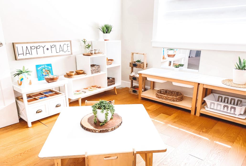 Montessori Workroom