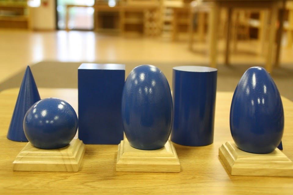 Geometric Solids Shapes Geometric Shapes Montessori